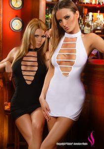 Neckholder Minikleid