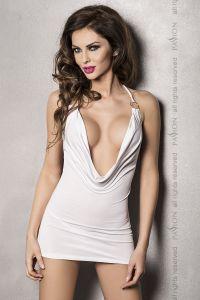 erotisches Minikleid in Weiß