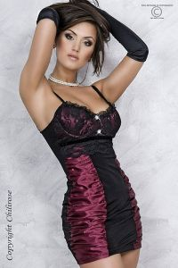 verführerisches Abendkleid